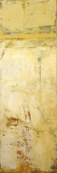 Martha Baker, oil & cold wax