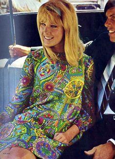 Sixties fashion #dressmaking #calicolaine