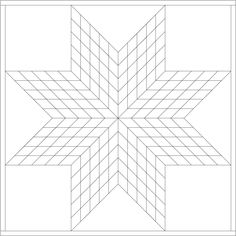 Star Quilt Templates Printable