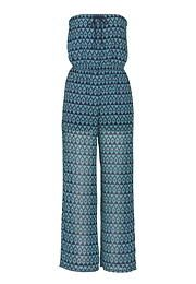 patterned tube top jumpsuit - maurices.com