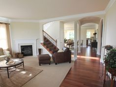 This living room is so open! #Lancasterpa #GretchensellsLancaster