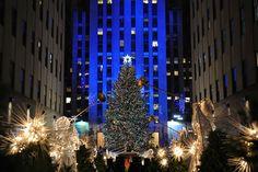 Rockefeller Center Christmas tree | Rockefeller Center Christmas Tree Lighting