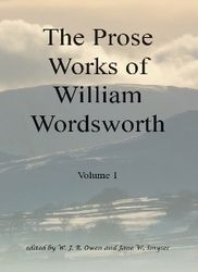 The Prose Works of William Wordsworth, Volume 1  Author: Owen, W J B and Jane Worthington Smyser (eds)  £17.95