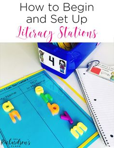 Beginning literacy stations can seem like a huge task, but it really is simple! No more changing stations out each week! Keep your learners engaged and make your job easier!