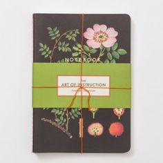 Holiday Gifts - For the Gardener - Terrain Botanical Notebook Trio #shopterrain $12.95