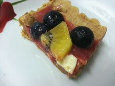 Non-baked easy fruit tart recipe - COOKING - Knitting, sewing, crochet, tutorials, children crafts, papercraft, jewlery, needlework, swaps, cooking and so much more on Craftster.org