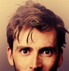 David Tennant-- the crinkles when he smiles #FanGirlProblems