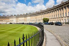 The Royal Crescent, Bath, UK