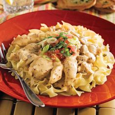 Lanières de poulet à la moutarde Confort Food, Pasta Salad, Cooking Tips, Macaroni And Cheese, Healthy Snacks, Main Dishes, Chicken Recipes, Snack Recipes, Food And Drink