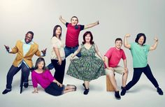 The cast of A&E's 'Born This Way' (Credit: A&E).