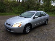 Car brand auctioned:Honda Accord LX Sedan 4-Door NO RESERVE! SILVER 2003 HONDA ACCORD LX ~ 4-CYL ~ 154K ~ LOOKS Check more at http://auctioncars.online/product/car-brand-auctionedhonda-accord-lx-sedan-4-door-no-reserve-silver-2003-honda-accord-lx-4-cyl-154k-looks/