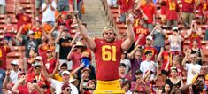 When Jake Olson went blind at 12 years old, so many things concerned him, but they couldn't keep him away from playing sports. Olson did the remarkable -- snapped for his favorite team, USC. Usc Football Players, College Football Season, Piercings, Biotin Shampoo, Blinde, Natural Preservatives, Usc Trojans, Moda Emo, Crazy People