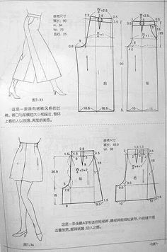 Gaucho pants and high-waisted skirt patterns