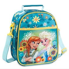 Disney Frozen Lunch Tote Bag with Anna and Elsa @ niftywarehouse.com #NiftyWarehouse #Nerd #Geek #Entertainment #TV #Products