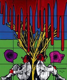 Gilbert & George past exhibition at Tate Modern John Baldessari, Op Art, Plymouth, Robert Morris, Giuseppe Penone, Gilbert & George, Exhibition Room, Social Realism, Art Articles