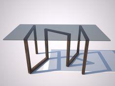 Amitrani, inspired by Isamu Noguchi Momento è un coffee table formato da una base in legno massello  che sorregge un piano in cristallo. Ispirato al leggendario Noguchi  Table, da questo coglie la vicinanza  alla scultura. Una forma  estremamente sintetizzata che trova il suo punto chiave nella torsione.