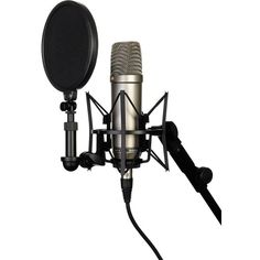 Rode NT1-A Studio Recording Microphone ❤ liked on Polyvore featuring filler