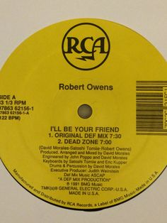Robert Owens - I'll Be Your Friend