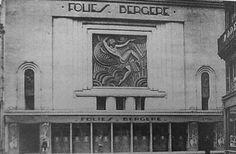 Folies Bergeres building in Paris in 1926