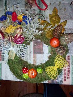 Wreaths, Halloween, Home Decor, Homemade Home Decor, Door Wreaths, Deco Mesh Wreaths, Interior Design, Home Interiors, Floral Arrangements