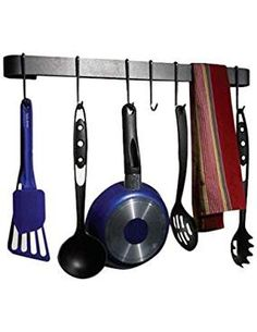 Wall Mounted Utensil Bar Rack. ** Click image to review more details. (This is an affiliate link)