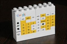 google lego calendar (for my sweethearts desk)#Repin By:Pinterest++ for iPad#