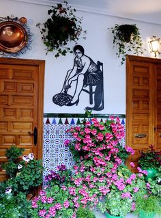 Patios in Córdoba - Young Adventuress Tourist Office, Rustic Gardens, Open Up, Landscapes, Cordoba, Courtyards, Scenery, Paisajes, Farmhouse Garden