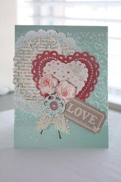 2012 Artisan Design Team January Projects - 1 : Sarah Sagert - More Amore