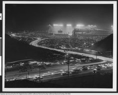Dodger Stadium at night, Los Angeles, June Dodgers Fan, Dodgers Baseball, Baseball Park, Baseball Photos, Dodger Blue, Dodger Stadium, Go Big Blue, Echo Park, Los Angeles California