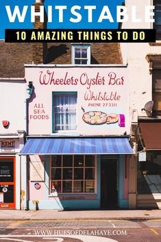 Planning a day trip to Whitstable from London? Check out these top things to do in Whitstable for inspiration. Scotland Travel Guide, Europe Travel Guide, Traveling Europe, Travel Plan, Travel Advice, Travel Destinations, London Travel Blog, Dublin Travel, Day Trips From London