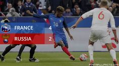#france vs #russia footballfactz.com France Vs, World Cup Qualifiers, International Football, Russia, Competition, Baseball Cards, Sports, Hs Sports, Sport