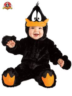 Infant Daffy Duck Costume | Wholesale Looney Toons Costumes for Infants & Toddlers