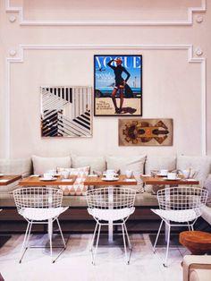 Vogue Cafe @ Printemps Haussman