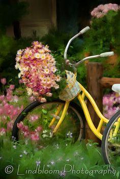 In the garden Detail, via Flickr.