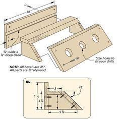 Drill Dock | Woodsmith Tips