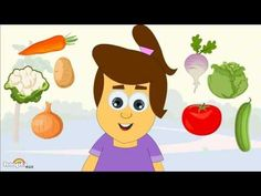 ▶ Learn About Vegetables - Preschool Activity - YouTube