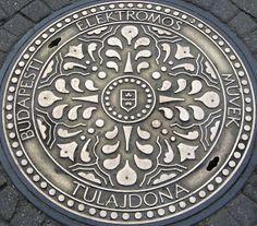 Budapesti Elektromos Müvek Tulajdona Manhole Cover