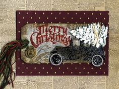 tim holtz christmas cards - Google Search