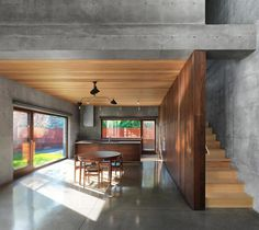 Concrete Beaumont House by Henri Cleinge