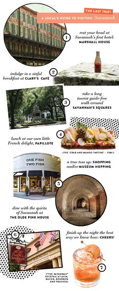 "Savannah ""to do"" list. More things to do with your girls"