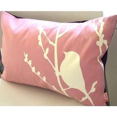 I'm pretty sure it was DIY pillows that made birds popular. I have no evidence to back that up, but I'm sure it's true. Have a boring pillow? Just Put. A. Bird. On. It.