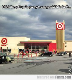I Think Target Is Going To Try To Conquer...