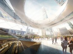 waaaat? | Four architects reimagine New York's Penn Station | Architecture