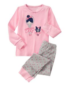 Ballet Friends Two-Piece Gymmies® at Gymboree