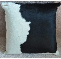 Elegance that matches everything, this is what this Cowhide Throw Pillow is. Whatever you want to do, wherever you want to put it, it will fit for sure!