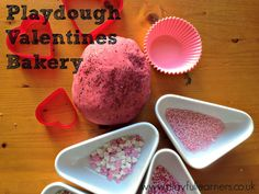 Playful Learners: Play dough Valentines Bakery