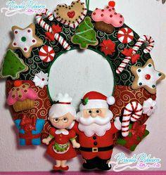 Christmas Tree Decorating Tips Handmade Christmas Decorations, Felt Christmas Ornaments, Christmas Items, Rustic Christmas, Christmas Projects, Holiday Crafts, Christmas Wreaths, Christmas Crafts, Christmas Makes