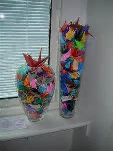 origami crane in vase - Bing Images