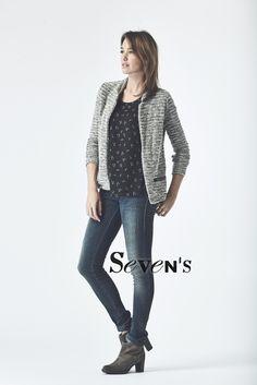 Veste & Top MAISON SCOTCH - Jean DIESEL Livier - Boots PALLADIUM    www.boutiques-sevens.com  #veste #top #maisonscotch #jean #diesel #livier #bottines #palladium #casual #women #smart #chic #winter15 #hiver15 #sevens #mode #fashion