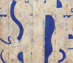 Caio Fonseca (American, b. 1959), Tenth St #56, 1994. Acrylic on canvas, 86.3 x 102.2 cm.